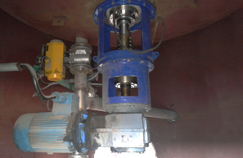 底入式搅拌机设备图片