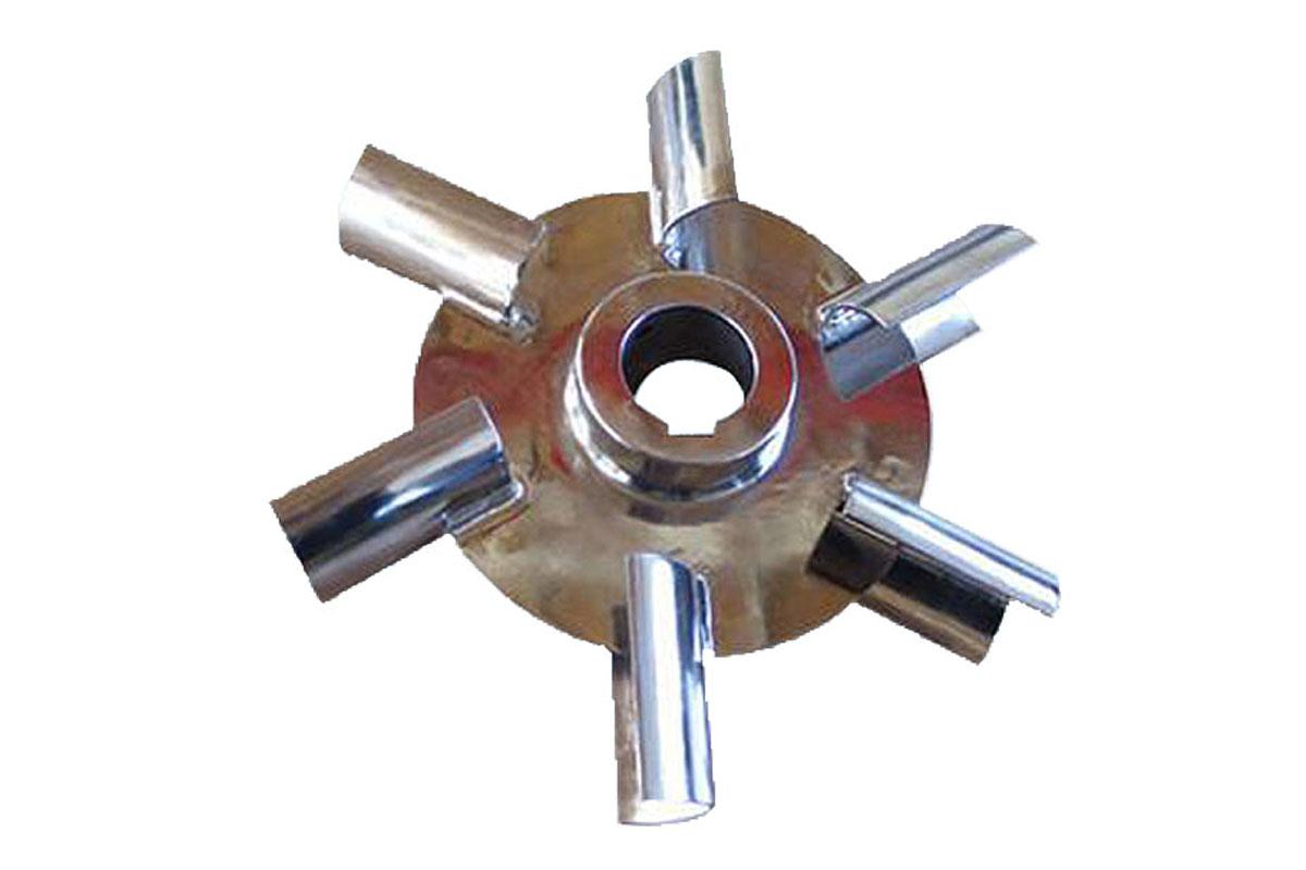 弧叶圆盘涡轮式搅拌器图片
