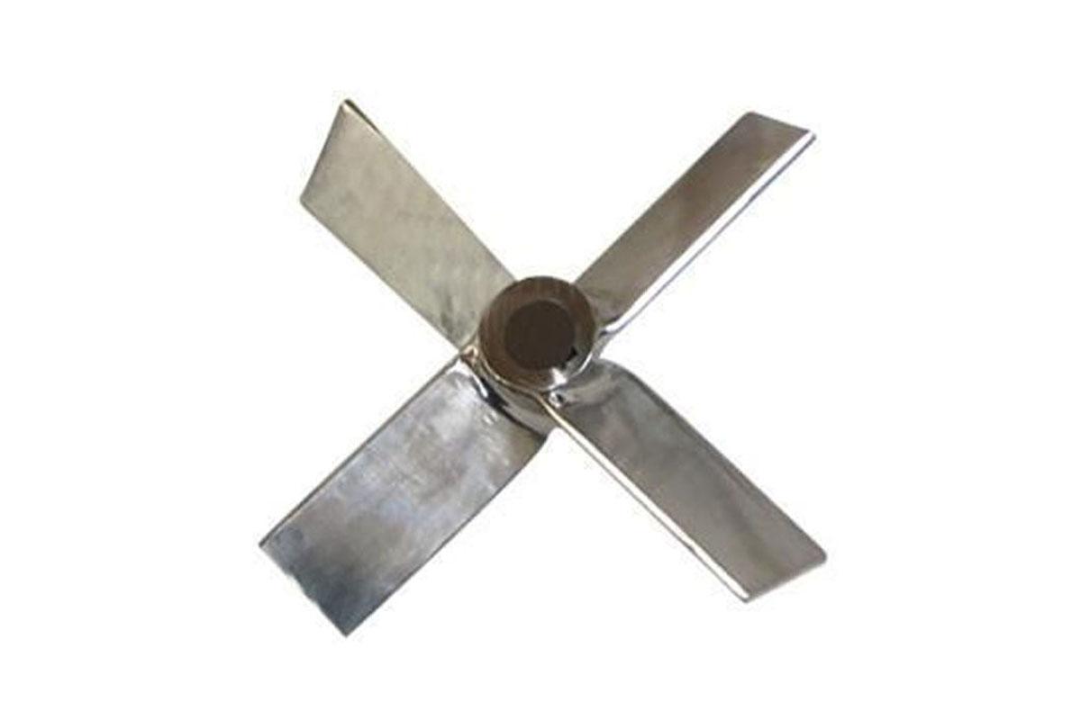 三宽叶,四宽叶旋桨式搅拌器图片